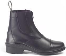 Kort jodhpur ridestøvle med lynlås