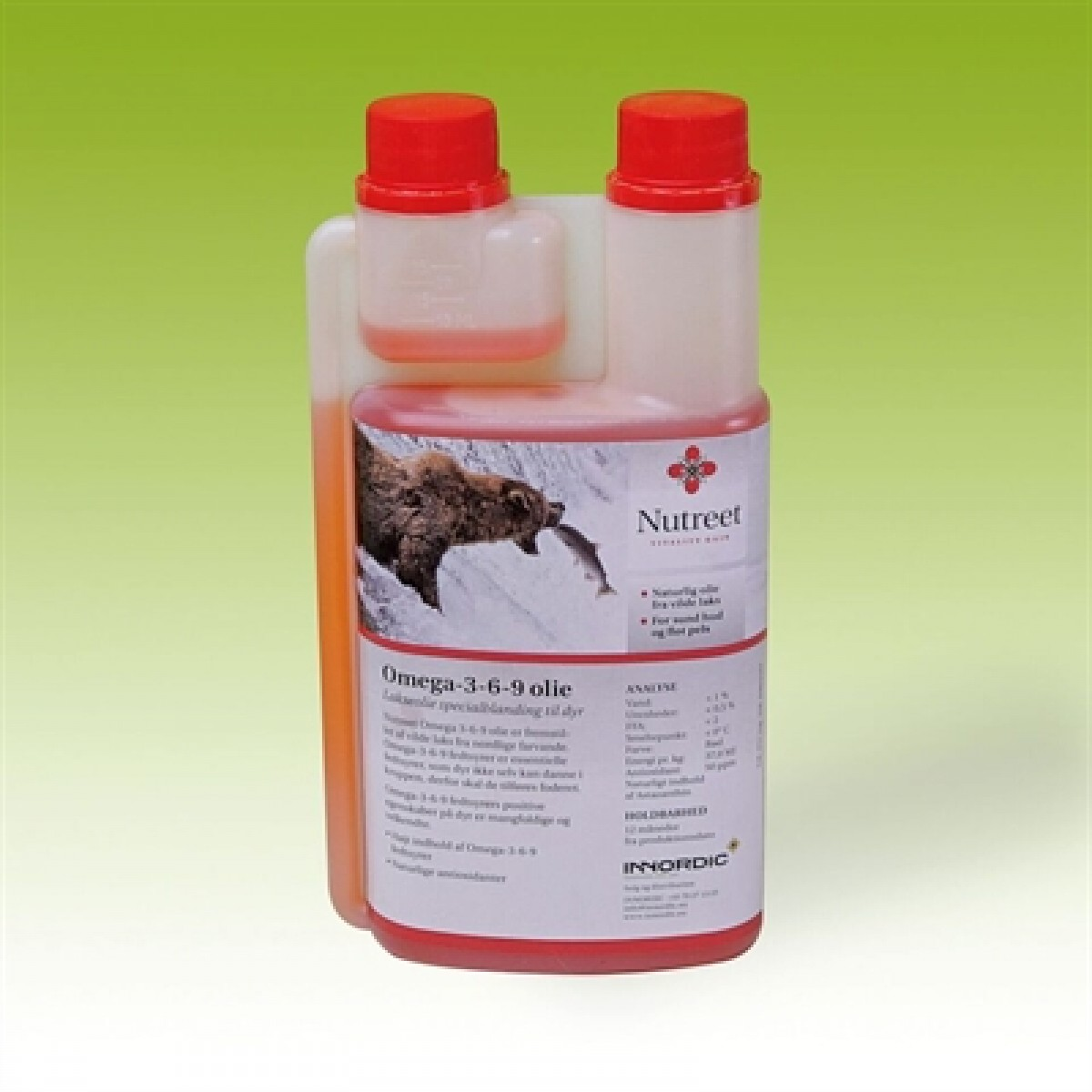 Nutreet Omega 3-6-9 Lakseolie 1 L