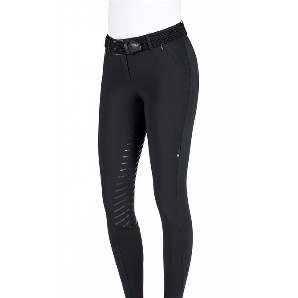 Equiline Pantalone Full Grip Sort