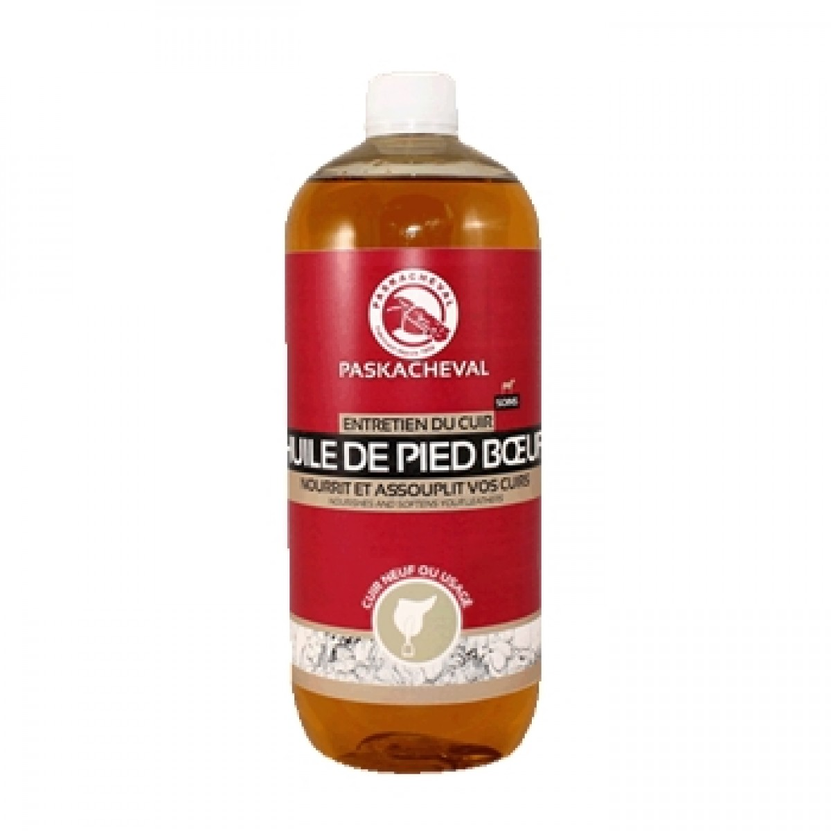 Paskacheval Huile Læderolie 500 ml