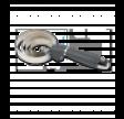 Spiral Strigle med gel håndtag- Sort