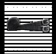 Sporer med gummi H - 3 cm