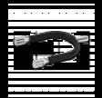 Sporer med gummi D - 2 cm