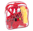 Striglesæt stor Waldhausen Rød