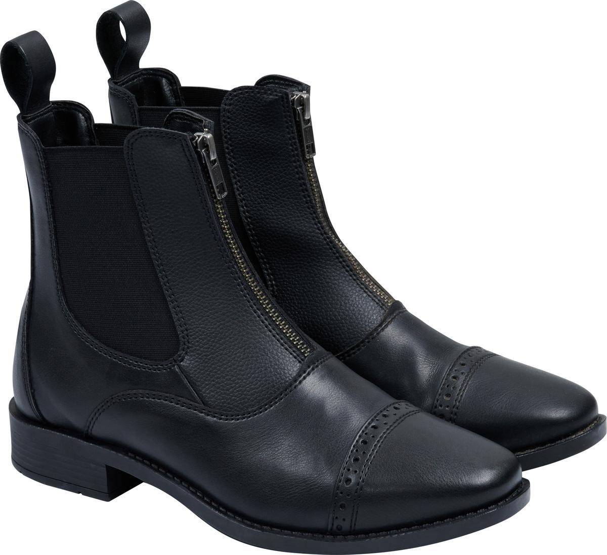 Korte Ridestøvler Farrow med lynlås