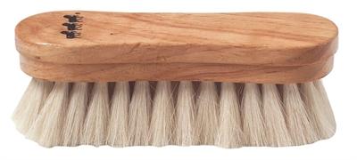Pandebørste med ægte hår